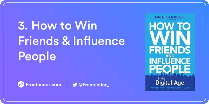How to Win Friends and Influence People by Dale Carnegie Book