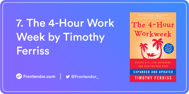 The 4-Hour Work Week by Timothy Ferriss Book